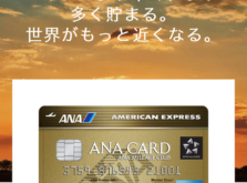 ANAアメックスゴールドカード