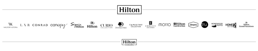 Hilton100時間半額セール_ヒルトンロゴ