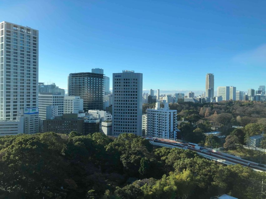 ホテルニューオータニ東京_ザ・メイン_デラックスダブル宿泊記_景色