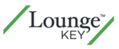 有償にて世界のエアポートラウンジが利用できるLoungeKey特典-JCBゴールドカード特典_ラウンジキーロゴ