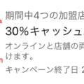 [2021年2月9日開始]対象カード限定。ヨドバシ.comや高島屋における30%キャッシュバック – アメックスプラチナ向け特典